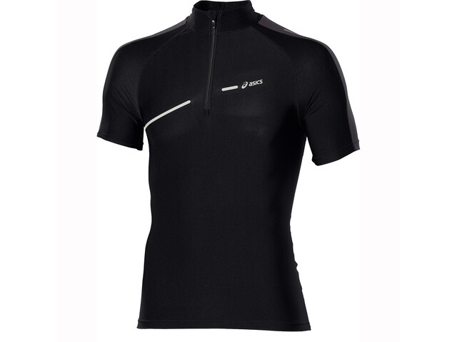 asics L1 IM 1/2 Zip SS Top Men performance black